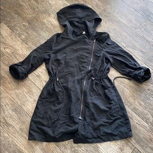 H&M black utility jacket